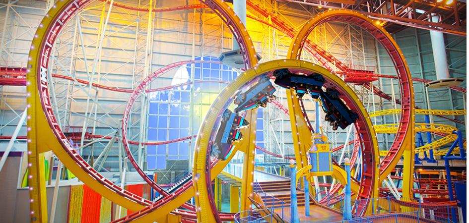 Galaxyland Amusement Park Edmonton Tourism