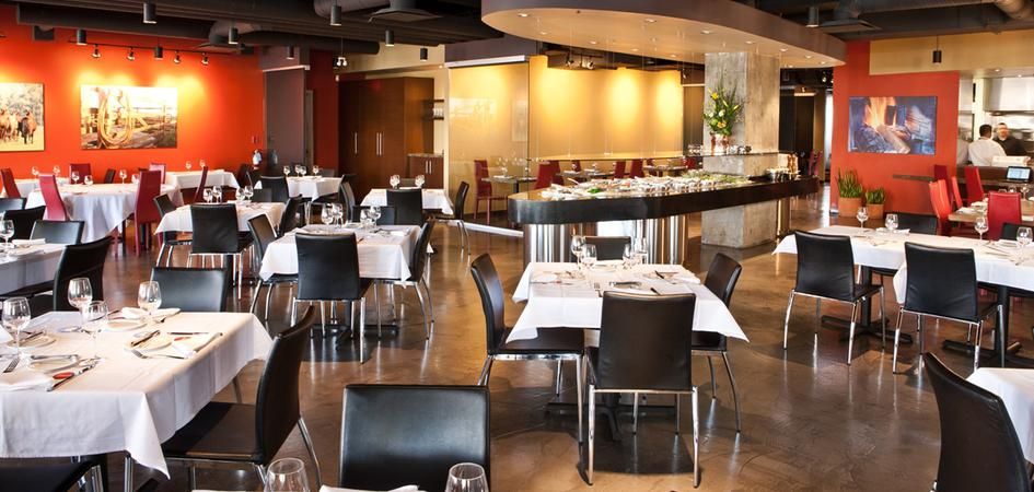 Pampa brazilian steakhouse edmonton tourism for Best private dining rooms edmonton