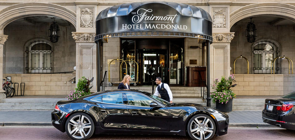 Fairmont Hotel Macdonald Edmonton Tourism
