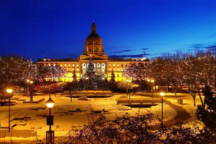 Celebrate the Season at Alberta Legislature