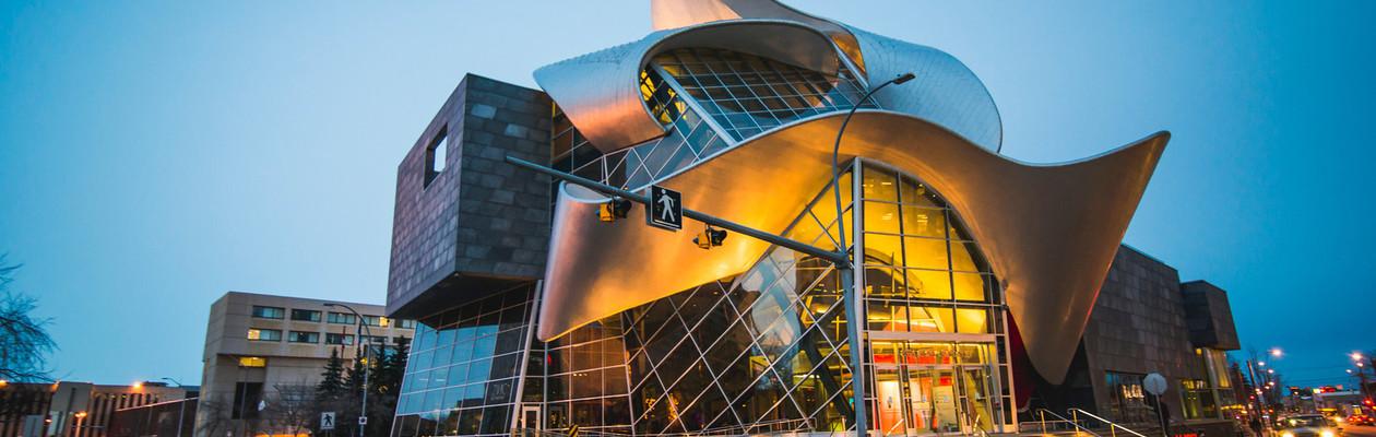 Iconic Architecture In Downtown Edmonton Edmonton Tourism