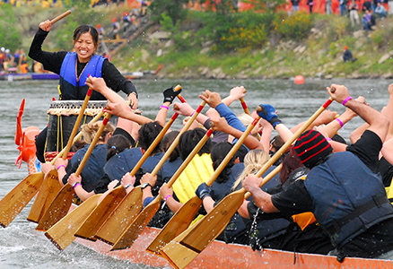 Things to do in Edmonton in August  Edmonton Dragon Boat Festival