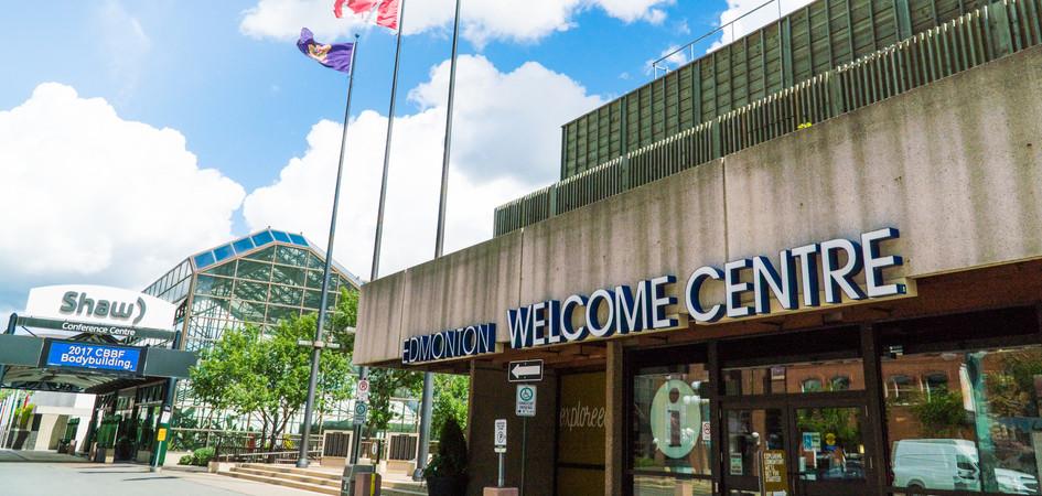 Visitor Centre Edmonton Welcome Centre Edmonton Tourism - Where is edmonton